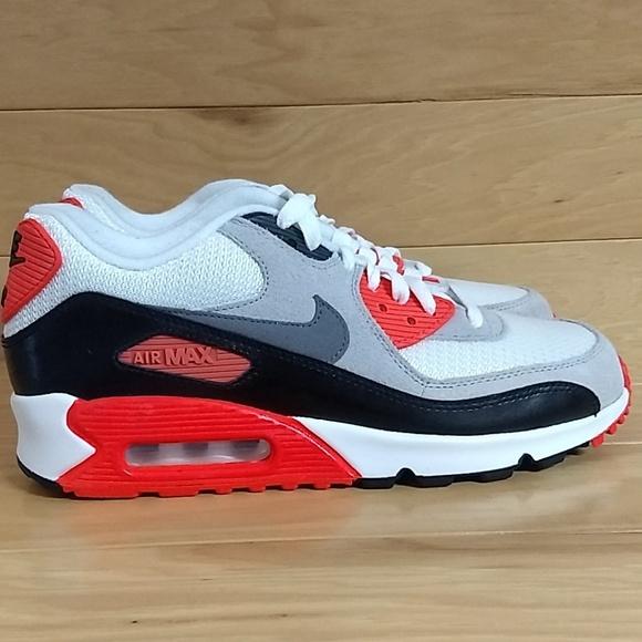 Nike Air Max 90 Prem Mesh GS Infrared 724882 100